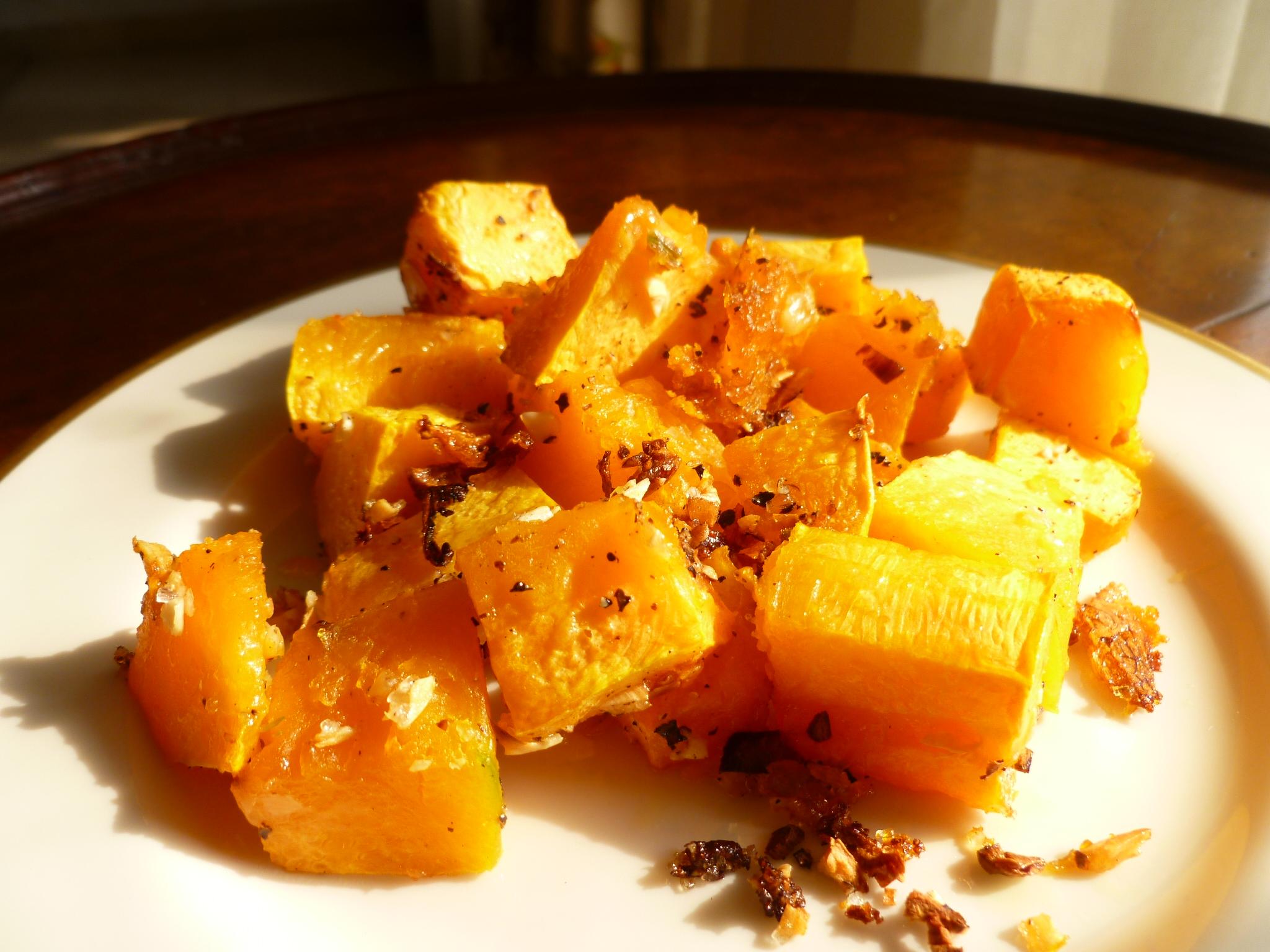 Maple-crusted Roast Pumpkin