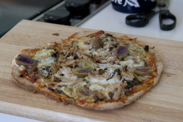 Thin, Herbed Pizza Crust