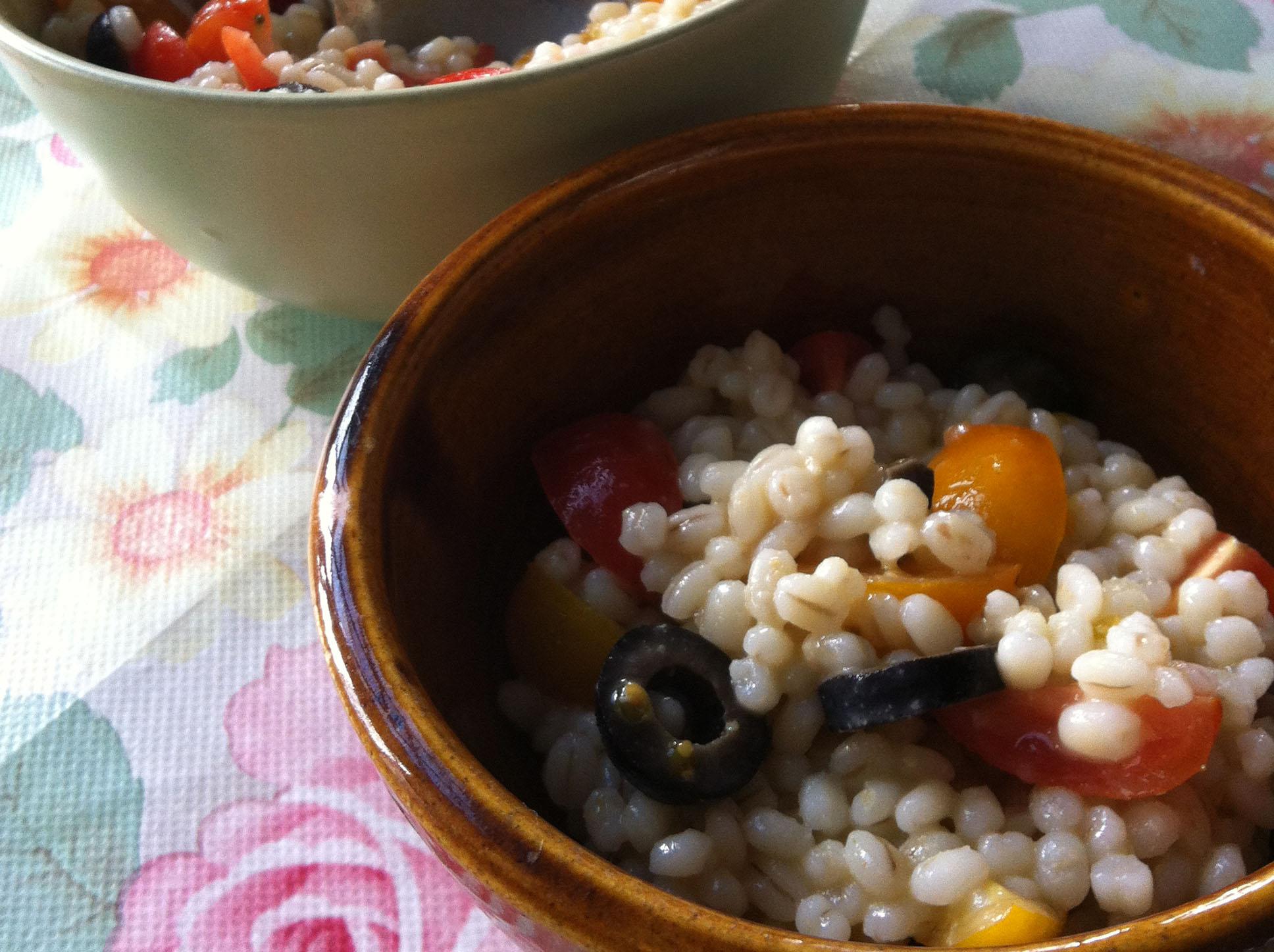 Summer Pearl Barley Salad