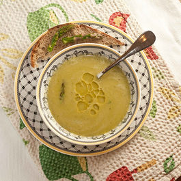Seared Asparagus Soup with Chervil