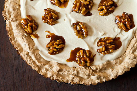 Maple Walnut Cream Tart