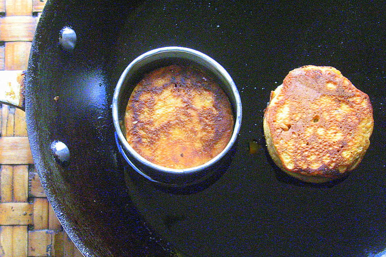Wake Up Call! Spiced Thai Tea Multigrain Pancakes