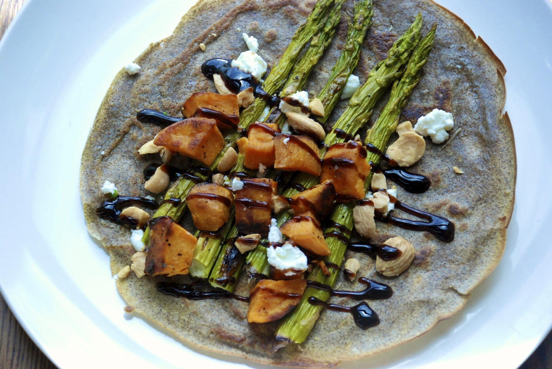 Almost-Vegetarian Crêpe