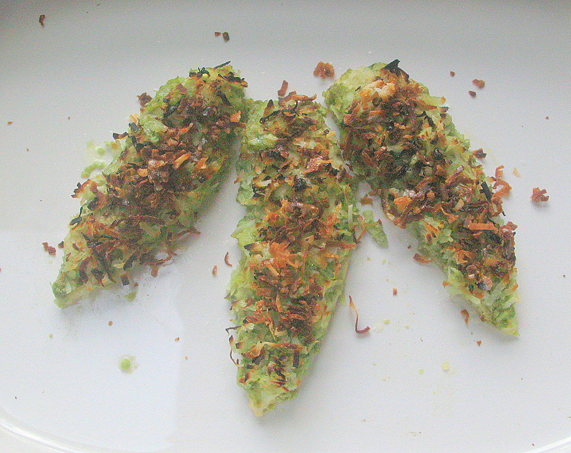 Spring Rain Chicken Coated with Lemongrass,Spring Onion and Coconut
