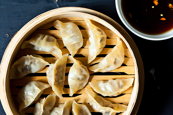 Mushi Gyoza on Food52