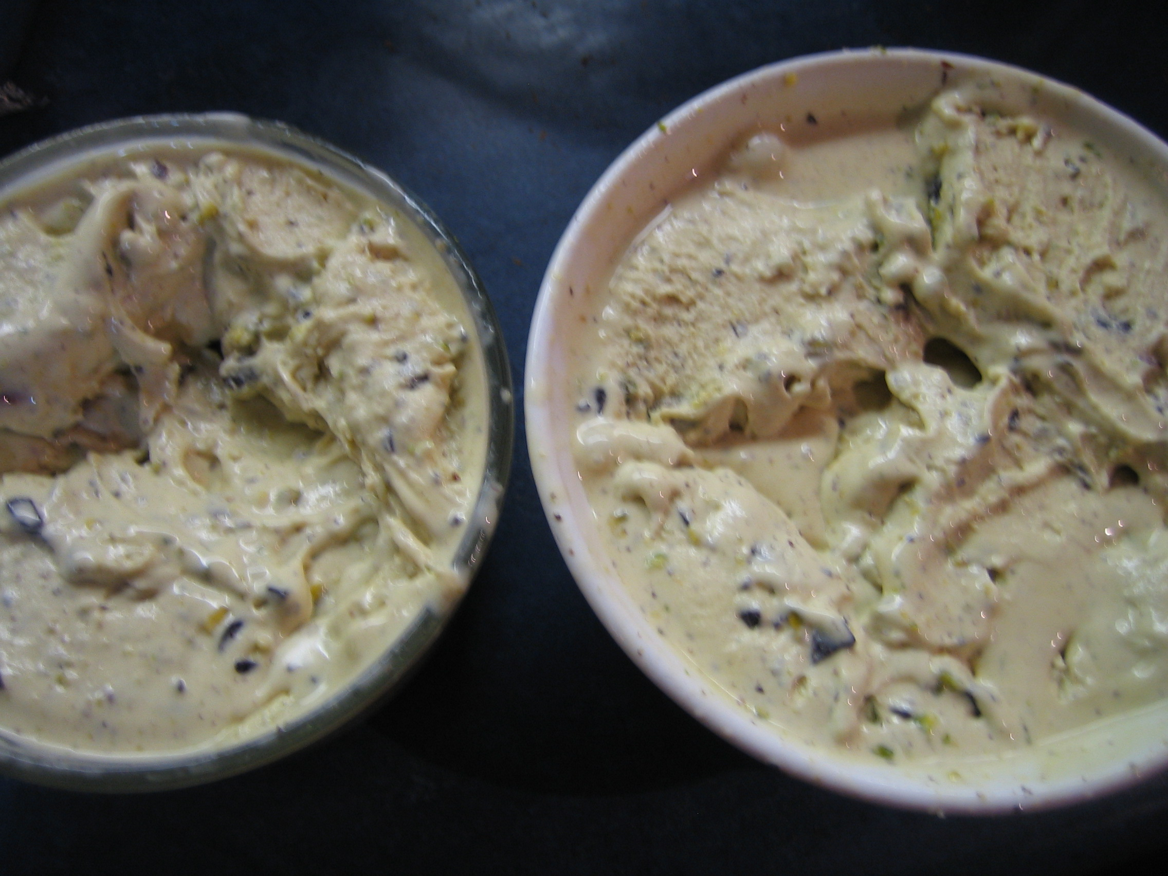 Pistachio Chocolate Cardamom Shiver Ice Cream