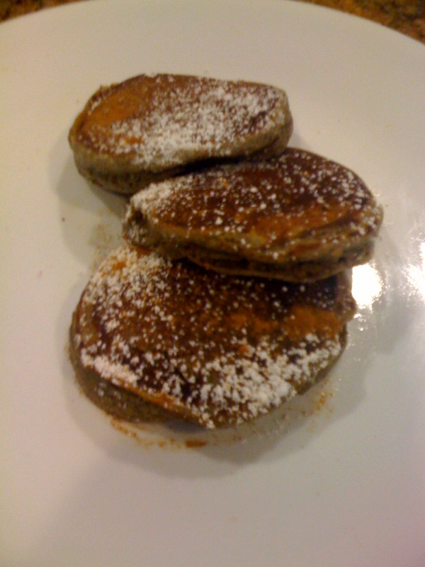 Mexican Chocolate Pancakes