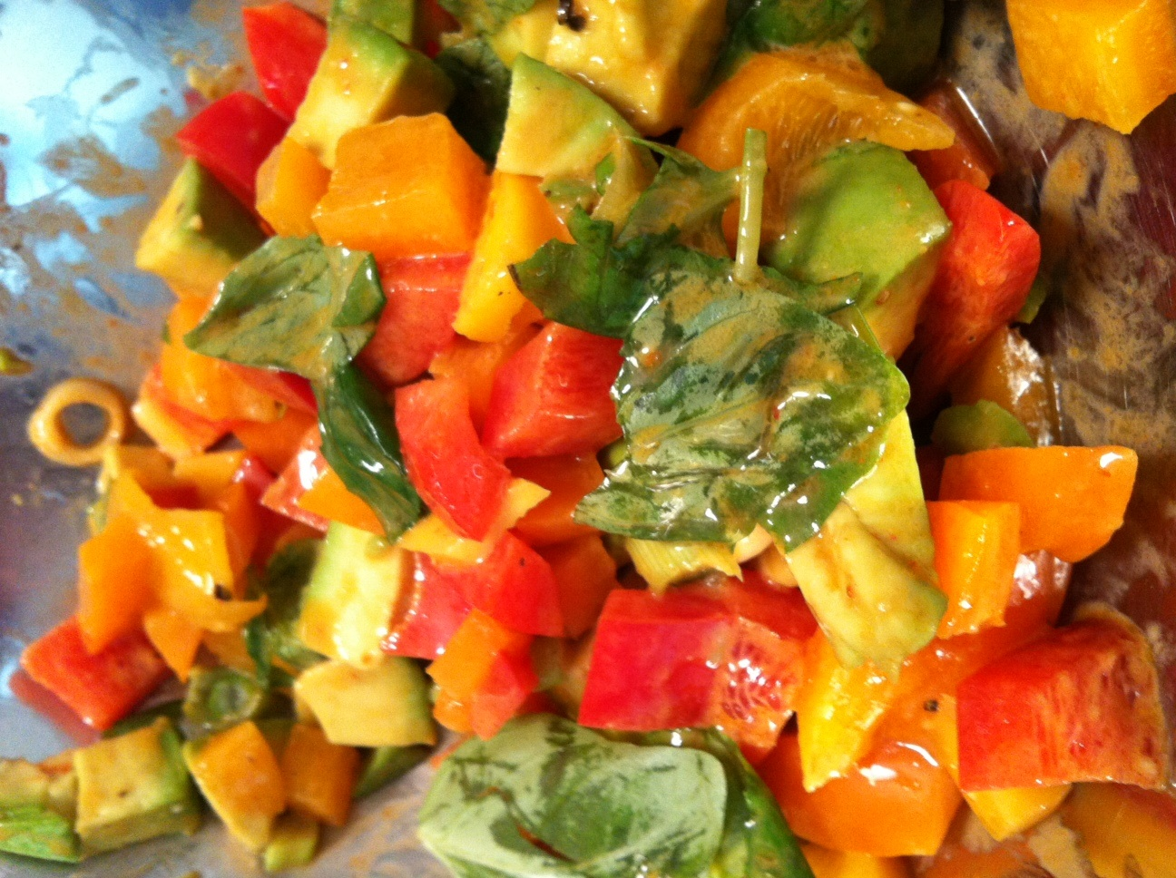 Monday Night Mango Salad