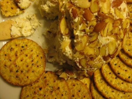 Honey Rosemary and Pear Cheese Ball