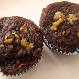 Chocaholics Zucchini Muffins