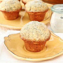 Lemon Poppyseed Muffin