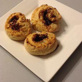 Prune & Parmesan Rolled Scones