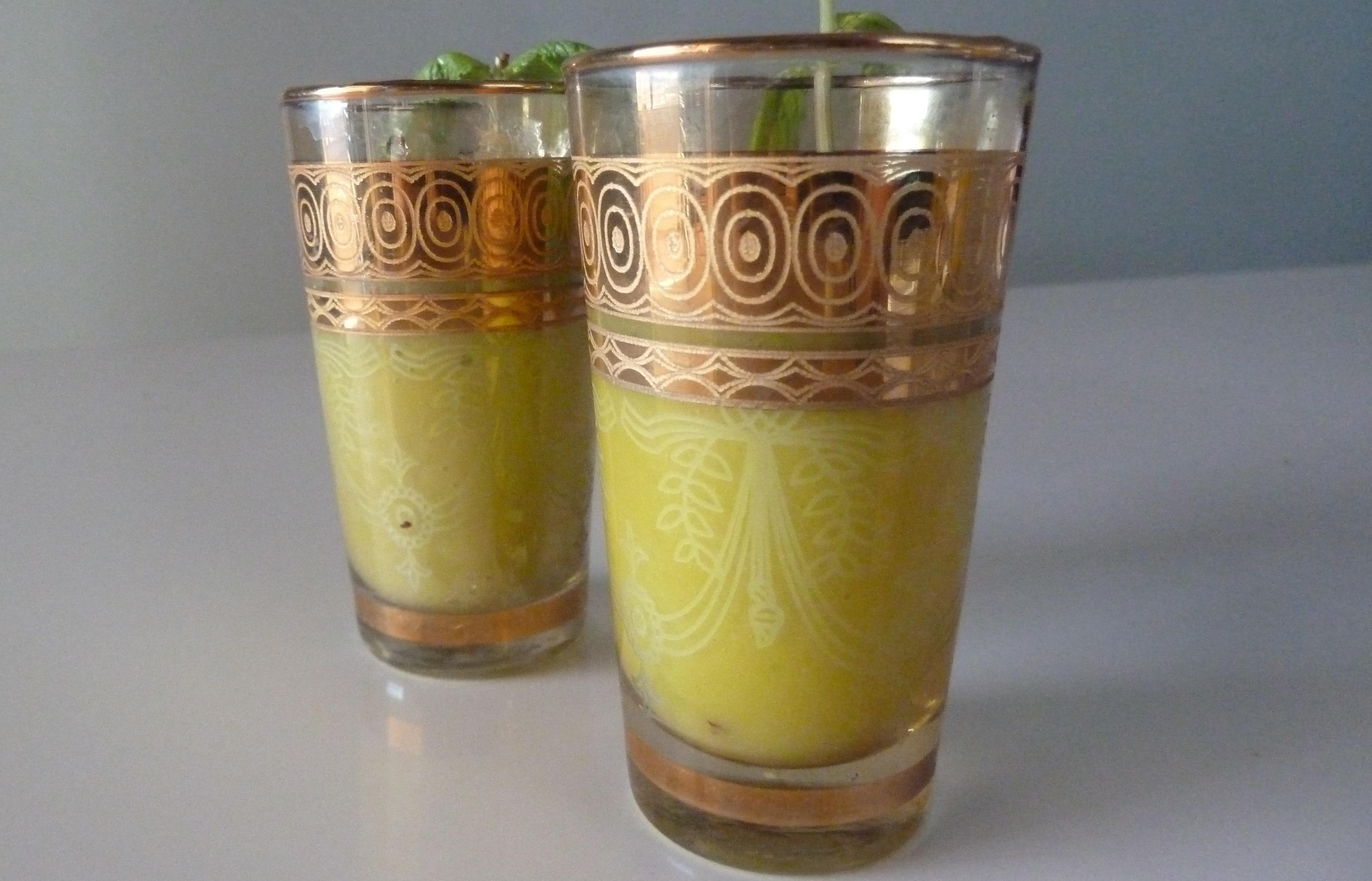 Mango-Jalapeño Gazpacho Shots