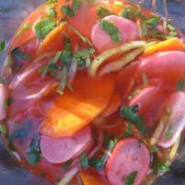 Pickled Spring Vegetables