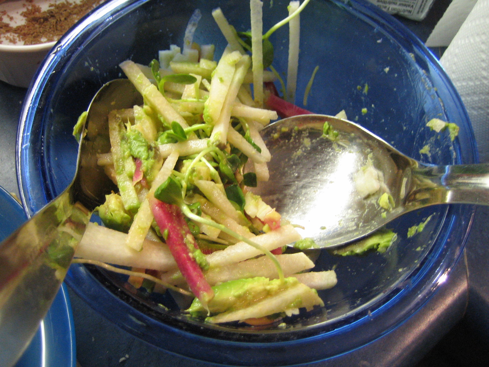 Deborah Madison's Jicama, Orange, and Watermelon Radish Salad