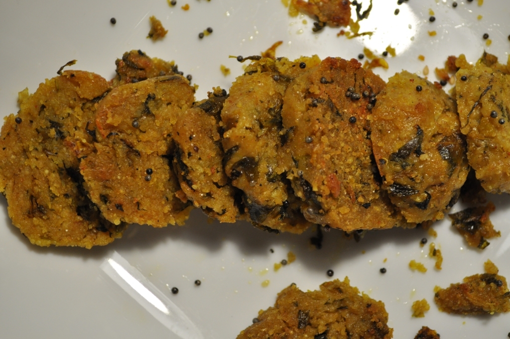 Muli Ja Muthia - Radish Dumplings