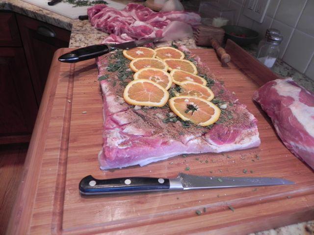 Double Pork Porchetta