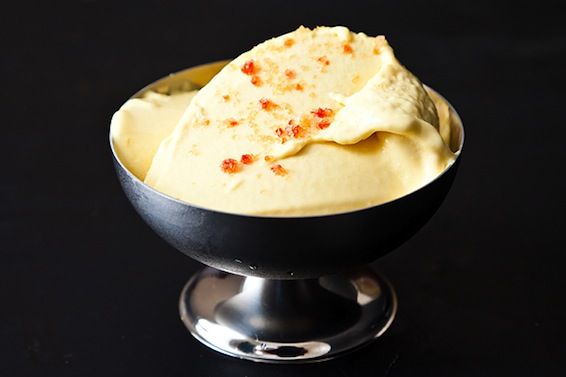 Mango Ice Cream with Chili Sea Salt