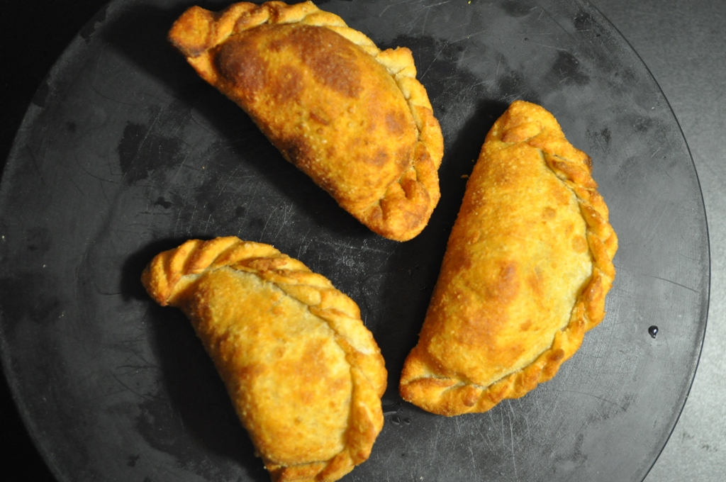 Papa , Mumma and Baby Empanada- Fresh Chickpea and Peas Empanada