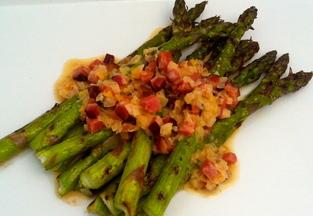 Asparaguscreamedbacon