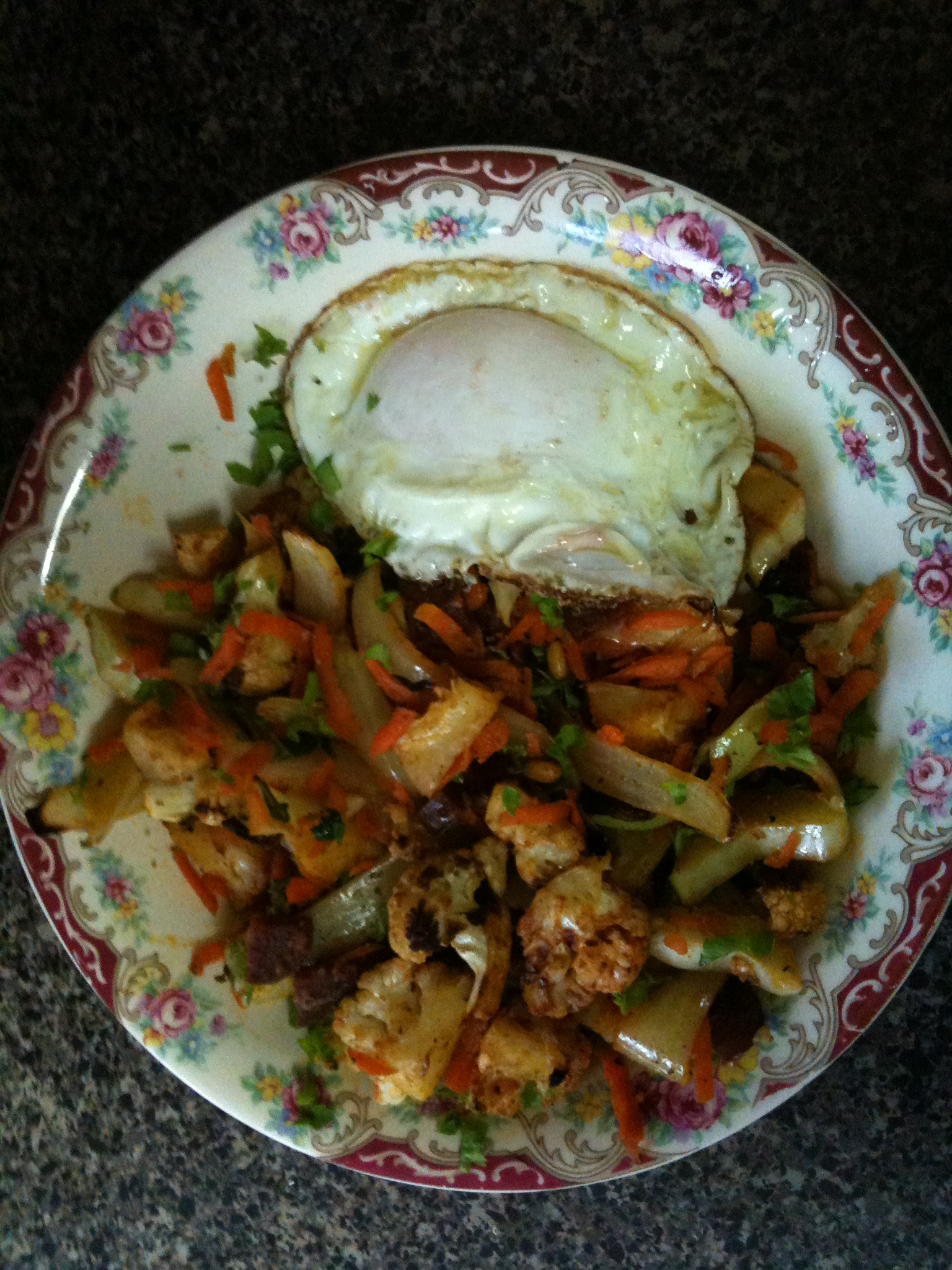 Pimenton Roasted Cauliflower