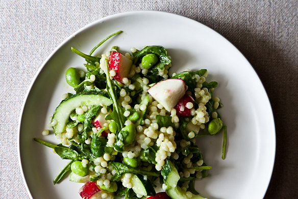 Radish Cous Cous from Food52