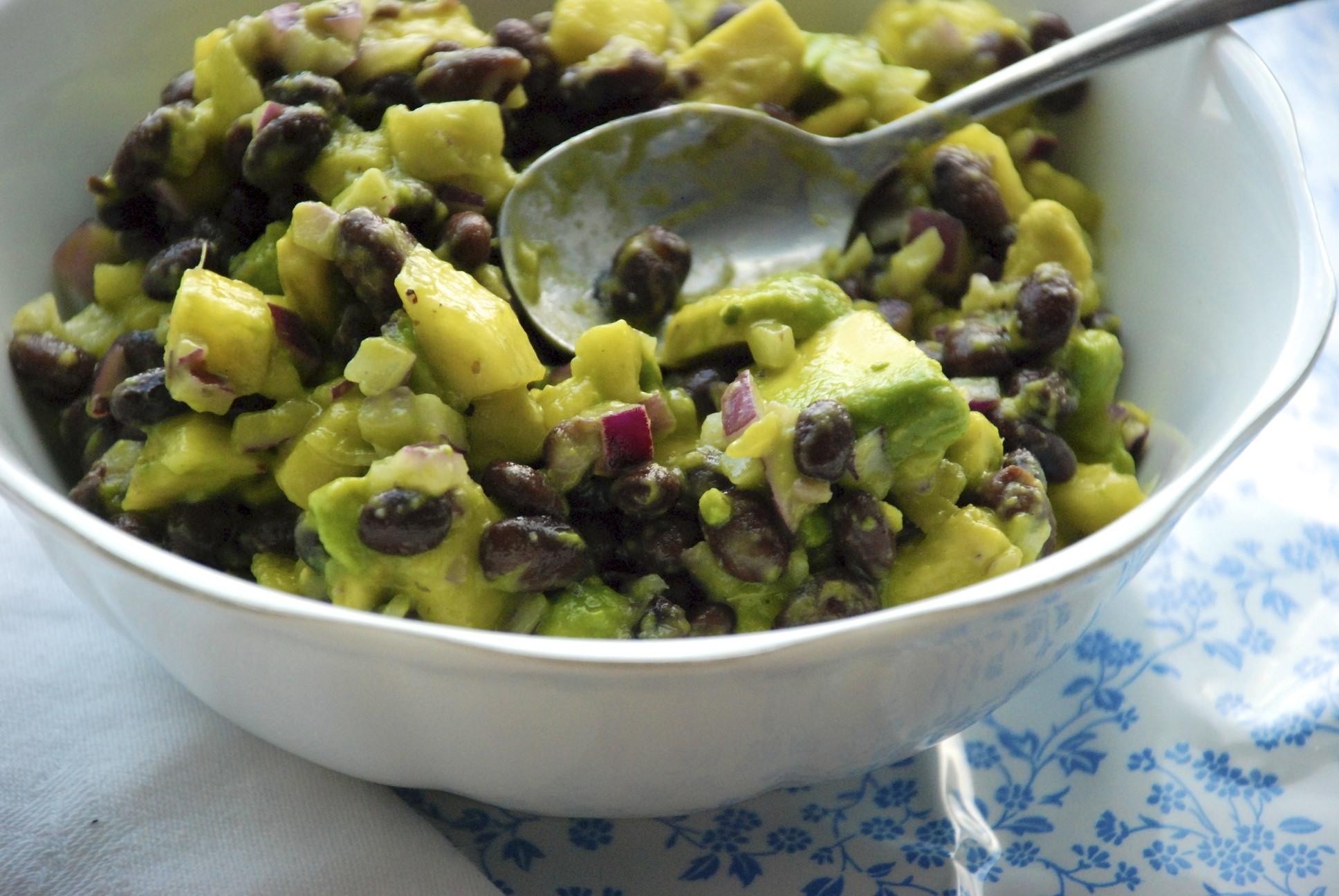 Black Bean, Avocado and Pineapple salsa recipe on Food52.com