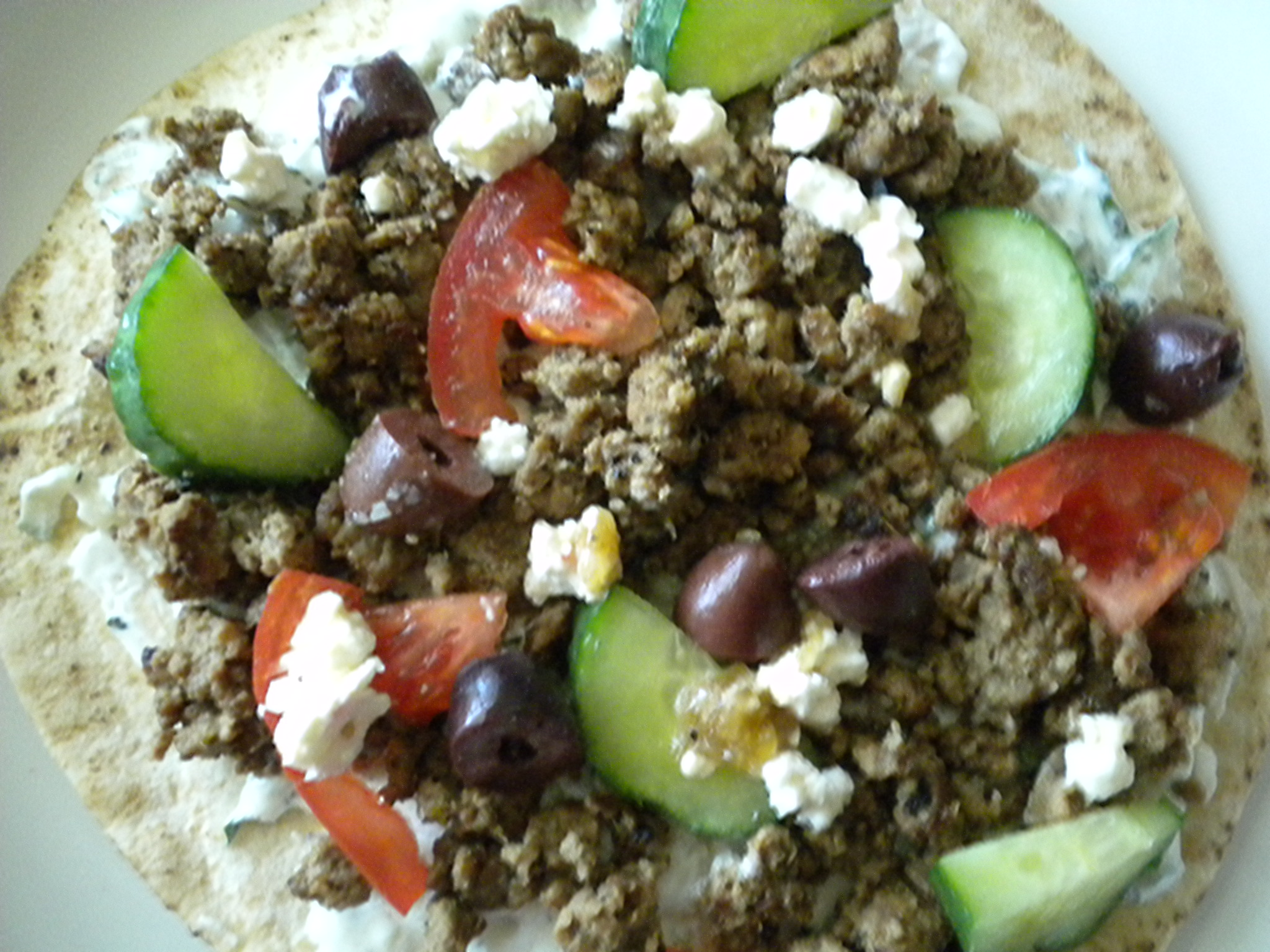 Fork and Knife Loose Meat Gyro
