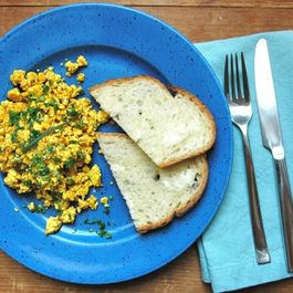 Tofu Scramble & Advice for a Picnic