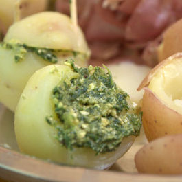 Minty 'Marriage proposal' potatoes