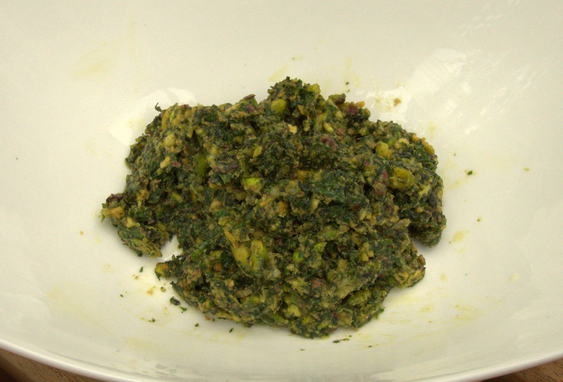 Mint-Pistachio Pesto