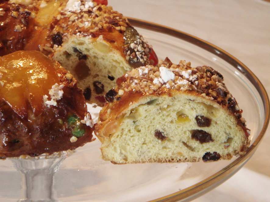 Christmas King's Cake - Bolo Rei (Portugal)