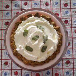 Mint Julep Cream Pie