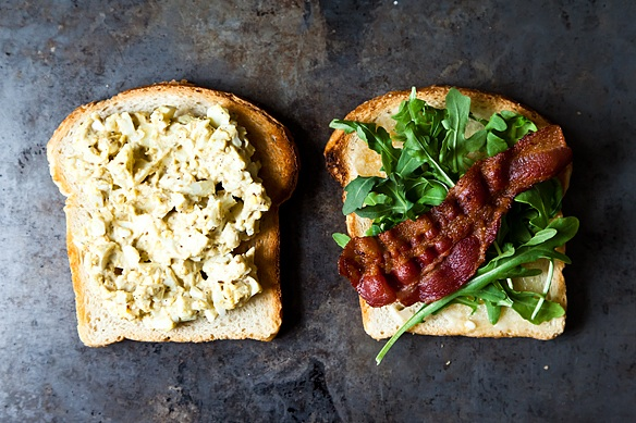 Bacon and Egg Salad Sandwich from Food52