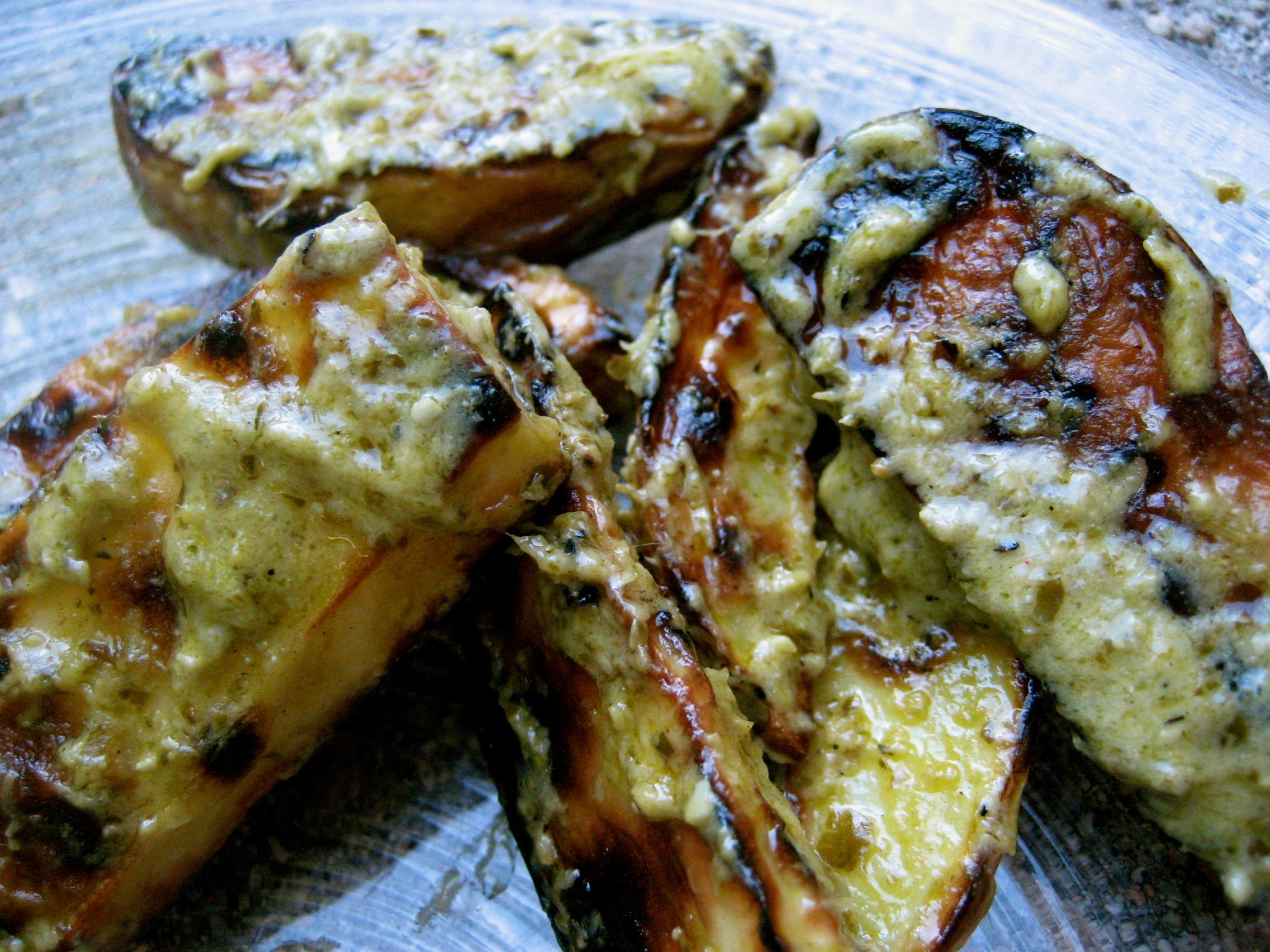 Grilled Pesto Potato Salad Recipe on Food52
