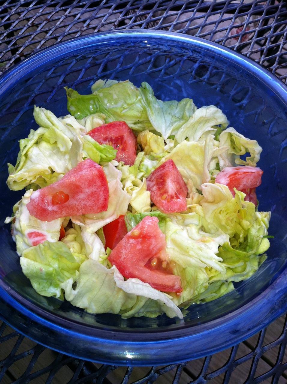 Lettuce and Tomato Salad Recipe on Food52