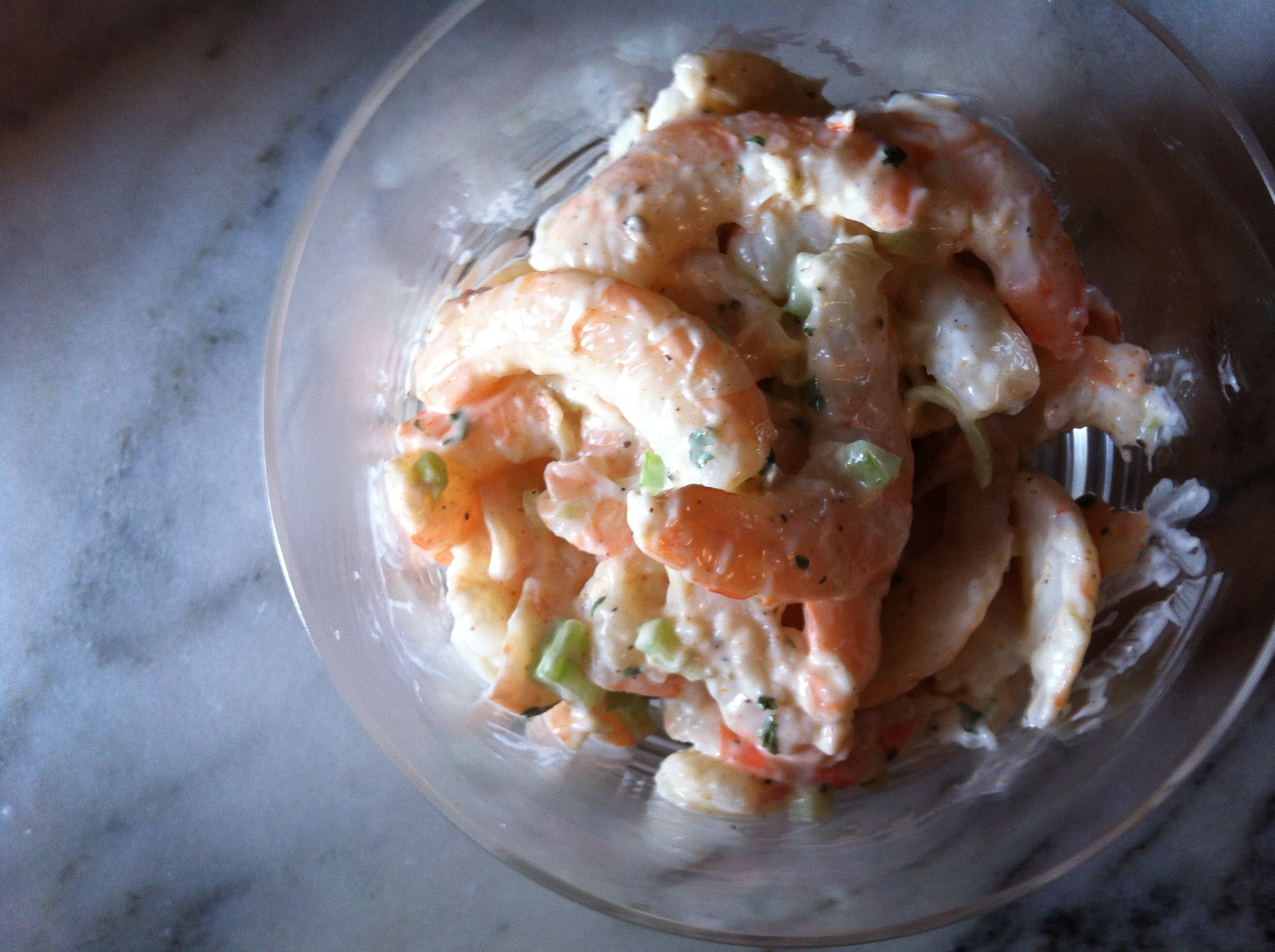 Maryland Shrimp Salad