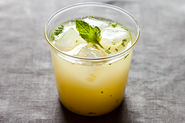 Lemon Mint Barley Water
