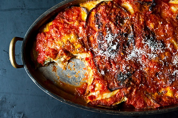 Eggplant Parmesan from Food52