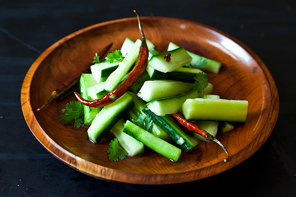 Jeffrey Alford & Naomi Duguid's Spicy Cucumber Salad from Food52