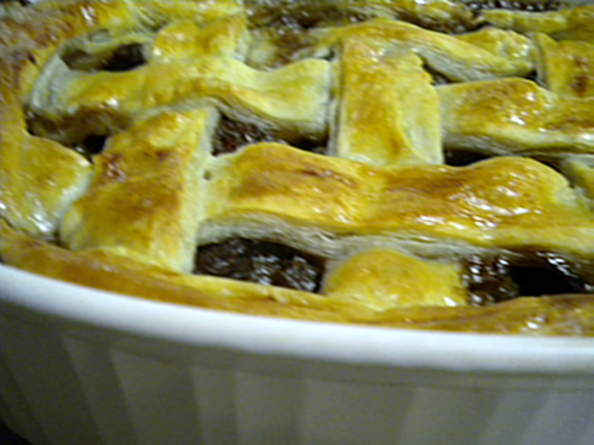 Steak, Mushroom and Oyster Pie
