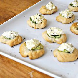 Zucchini and Ricotta Puffs