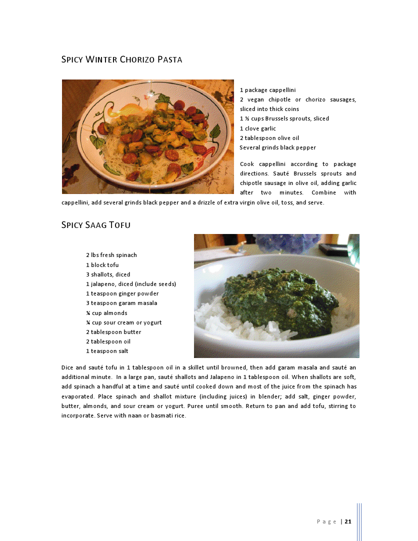 Spicy Saag Tofu