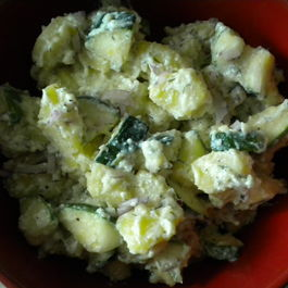 Dilled Zucchini-Potato Salad