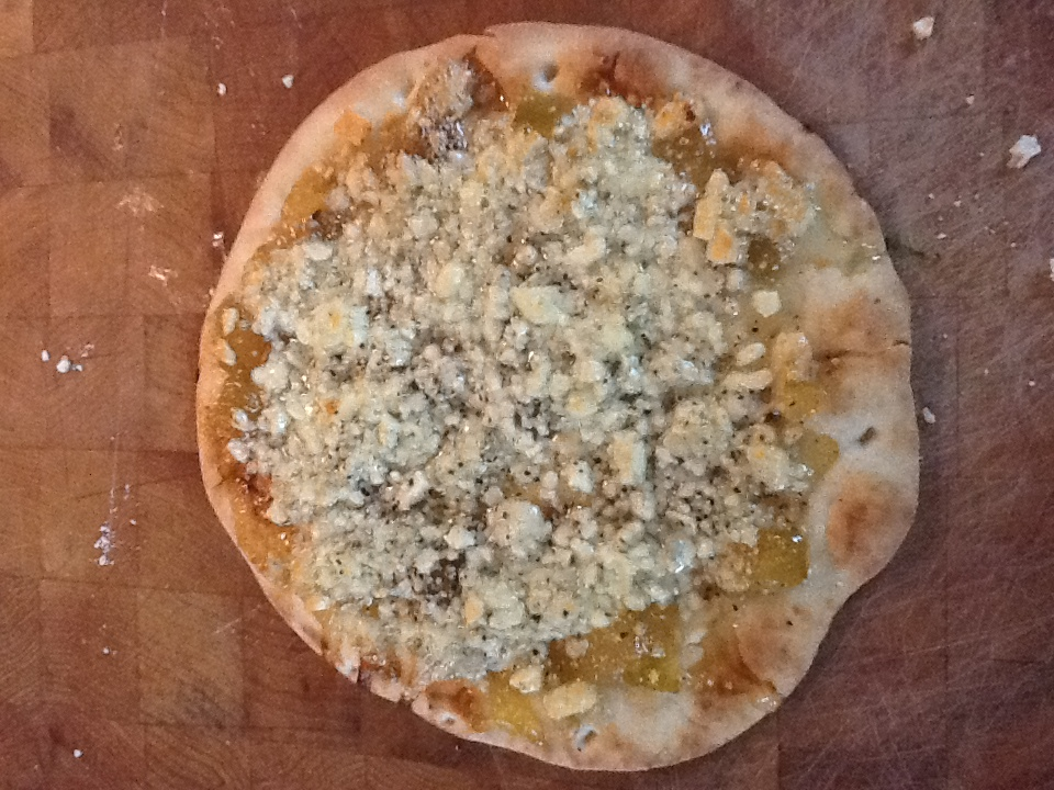 Bleu Cheese Pizza