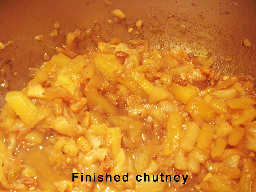 Rhum and Pineapple Exotic Caribbean Chutney
