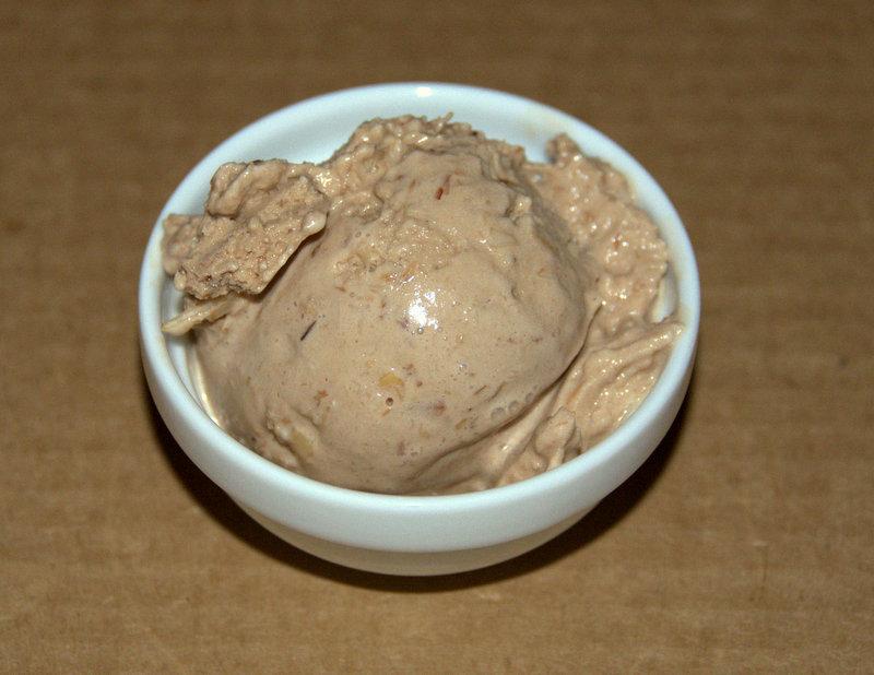 Almond Joy-Cardamom Ice Cream