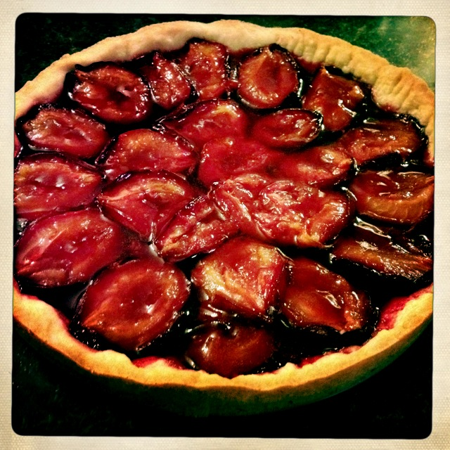 BEST Easiest Purple Plum Tart, courtesy Edna Lewis