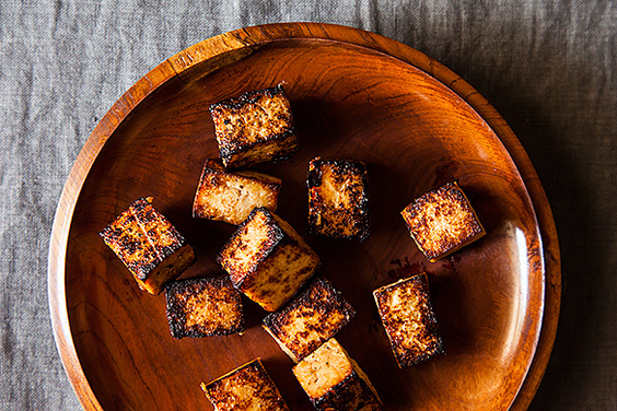 Japanese-Style Fried Tofu