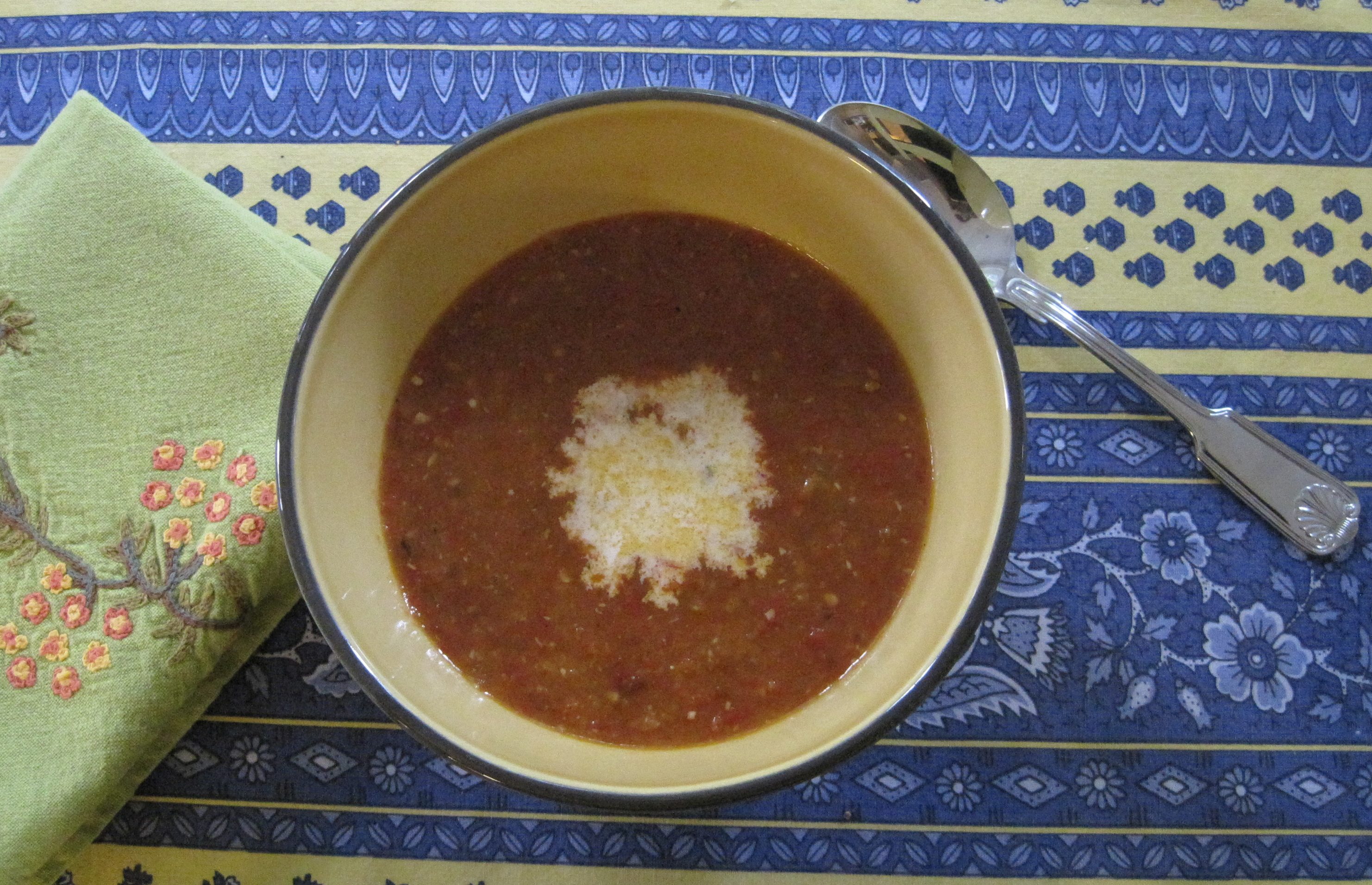 Roasted Heirloom Tomato Soup